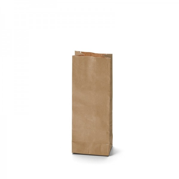 Two layer bags Kraft brown color 50g