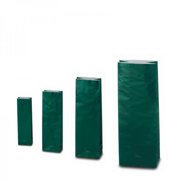 Trojvrstvové vrecko zelenej farby