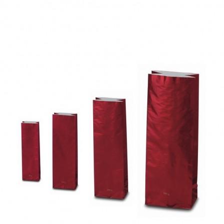Trojvrstvové vrecko bordó farby