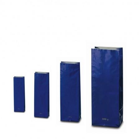 Trojvrstvové vrecko modrej farby