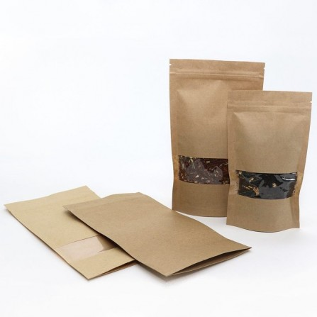 Stand Up bags with window 600 ml