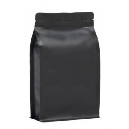 BP vrecko KRAFT mat čierne so ZIPom