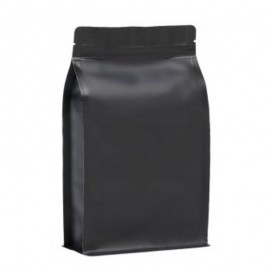 BP matt black bag with ZIP