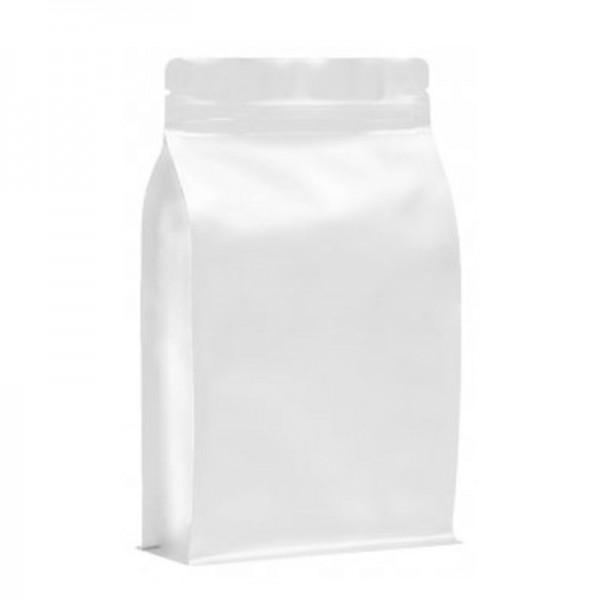BP bag white matt with ZIP
