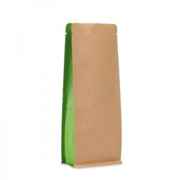 BP bag brown with green side without ZIP