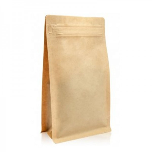 BP brown bag with ZIP