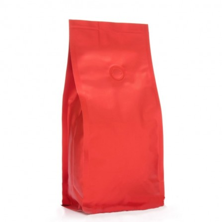 BP bag red matt with valve