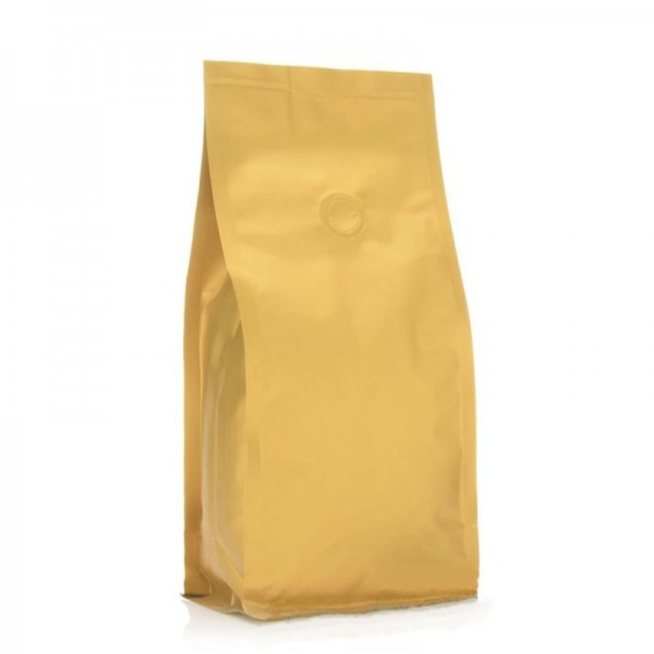 BP bag gold matt with valve