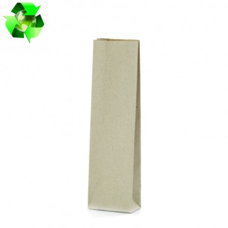 Grass paper bags natural color 500g