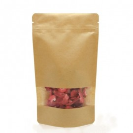 Doypack ZIP BIO compostable with a window