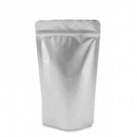 Stand Up bags silver colour