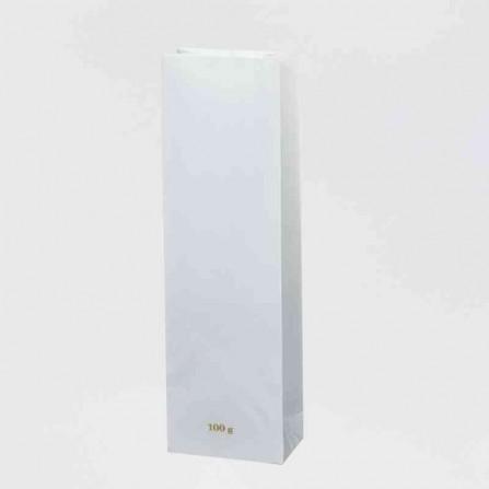 Papierové sáčky bielej farby