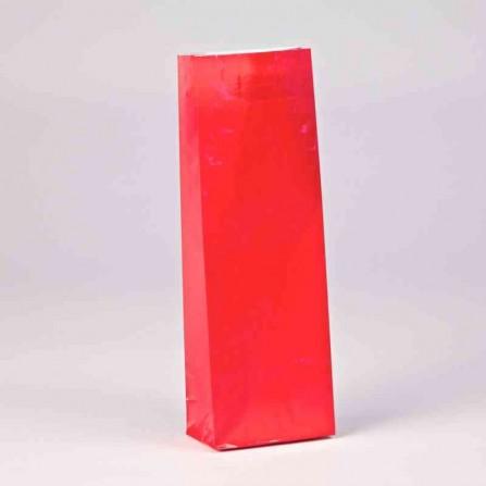 Trojvrstvové vrecko červenej farby