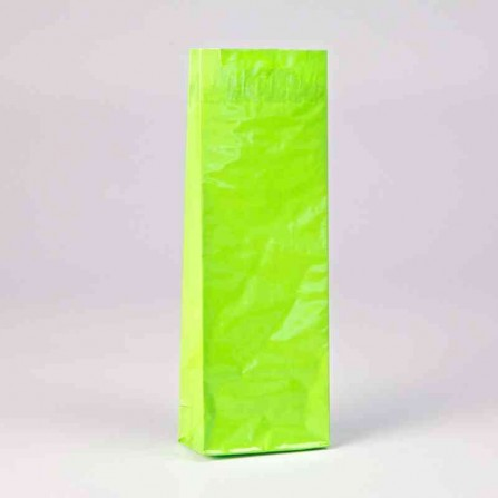 Three layer bag expressive green color
