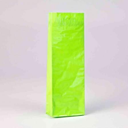 Trojvrstvové vrecko farby zelenej byliny