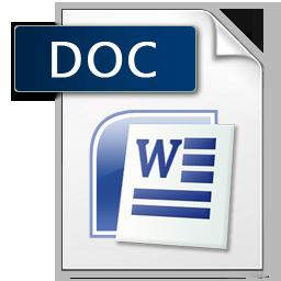 súbor vo formáte DOC